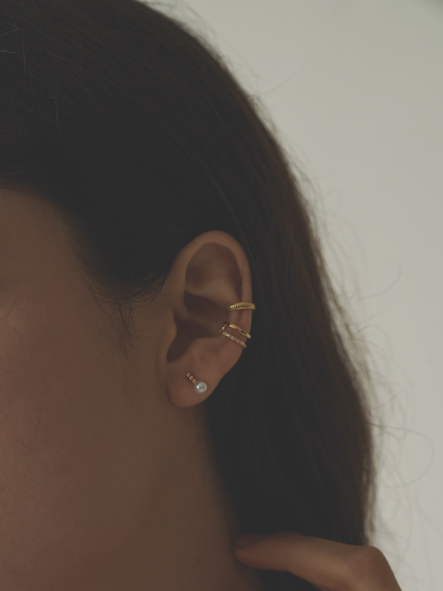 Four set earcuff